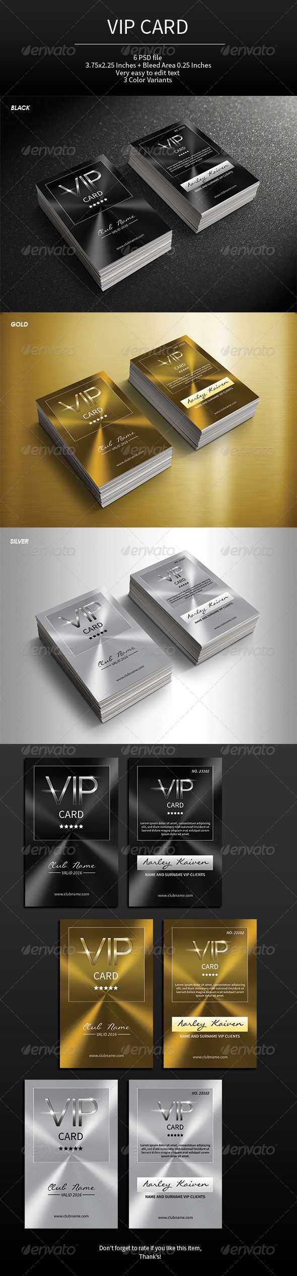 VIP Card PSD Templates | More Info: http://graphicriver.net/item/vip-card/7564143?WT.ac=category_thumb&WT.z_author=arifpoernomo&ref=ksioks