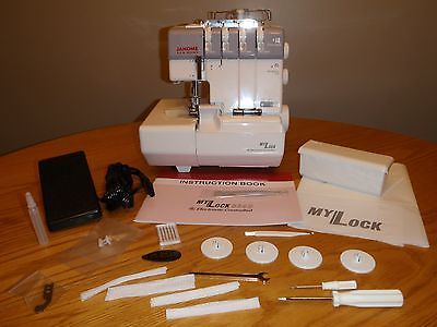 Рriсе - $699.00. Janome MyLock 634D SERGER--NEW IN BOX WITH FULL WARRANTY--AUTHORIZED DEALER ( Country/Region of Manufacture - Taiwan, Brand - Janome, Model - MyLock 634D, Type - Serger, Class - Household, MPN - 634 d, Operation - Mechanical    )