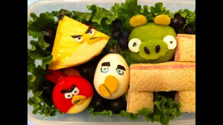 Забавная еда или креатив за столом
