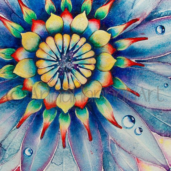 """""""Bloom of Counsciousness"""" from the series """"Mandalas"""""""