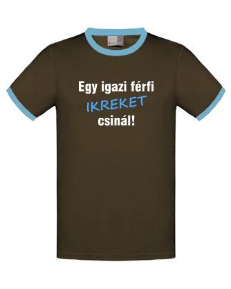 Egy igazi férfi ikreket csinál, póló ikres apukáknak, http://twinshirts.polomania.hu/termekek/2609_Ikres_apukaknak/