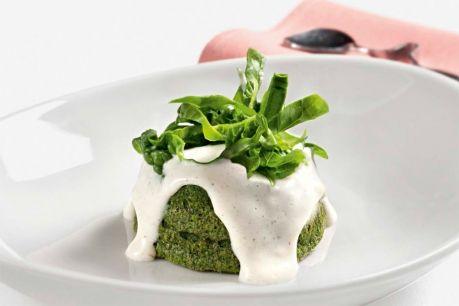 Tortino di spinaci con besciamella di parmigiano   KenwoodClub.it