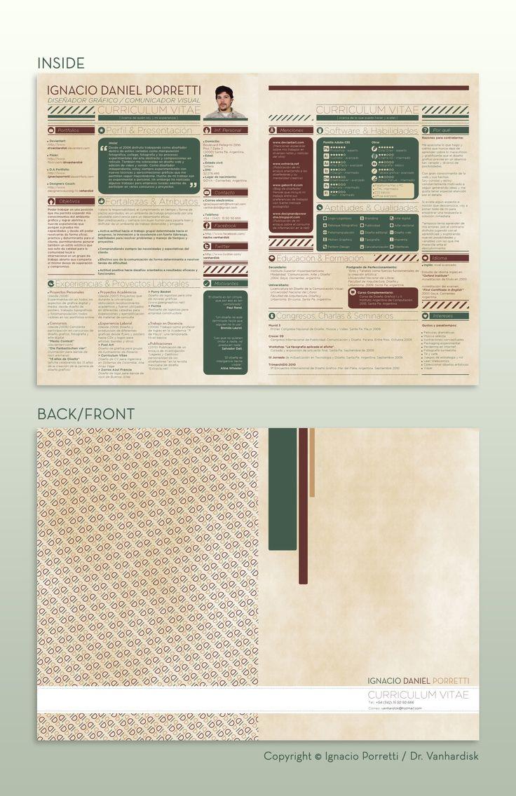 85 best Resumes images on Pinterest | Currículum, Diseño editorial y ...