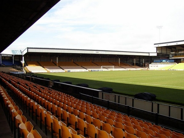 Vale Park Burslem - the home of Port Vale FC.