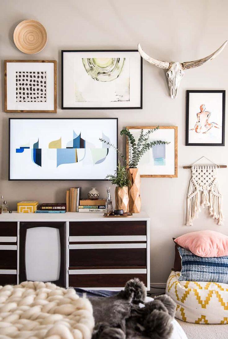 Les 161 Meilleures Images Du Tableau Chambre Jeanne Sur Pinterest  # Dressing A Mettre Dans Une Chambre Sur Un Mur Entier Avec Tele Incorporee