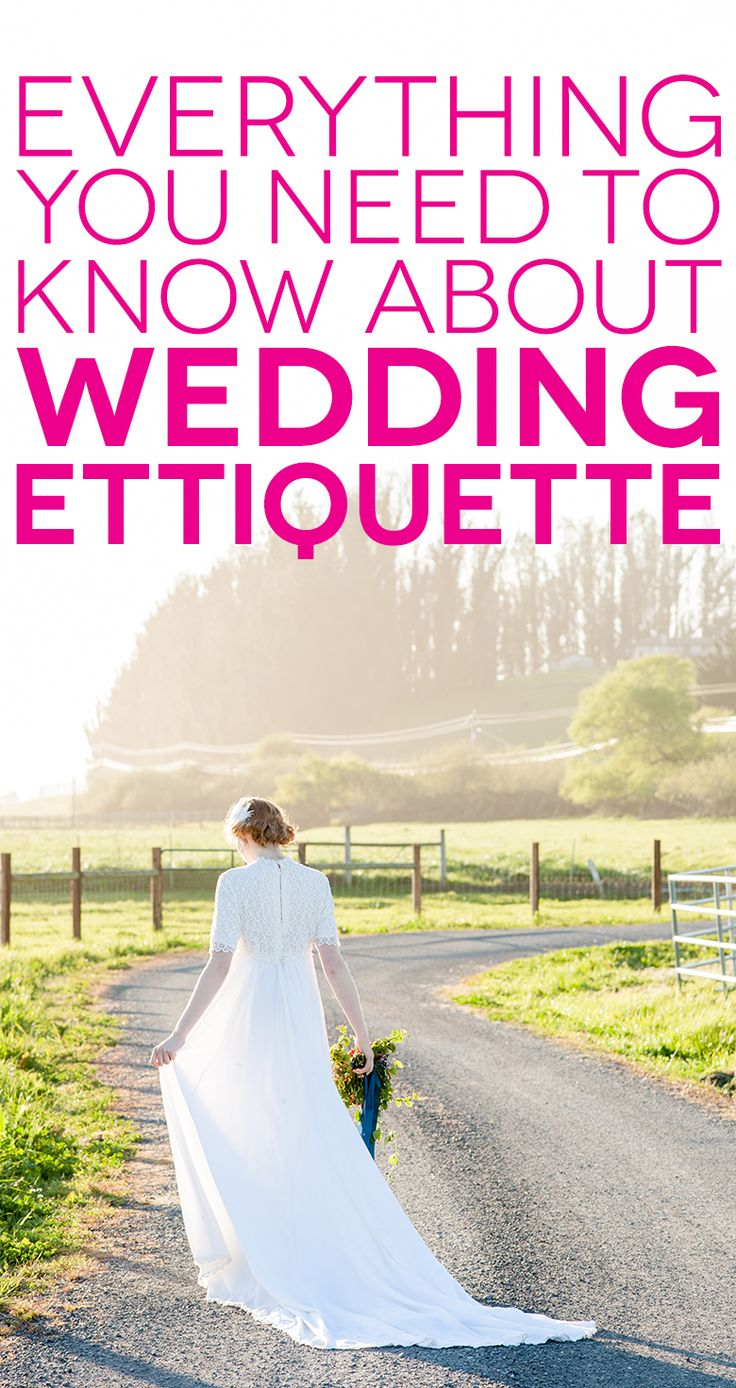 Wedding etiquette has changed a lot over the years, and never has this been more true than in the 21st century.