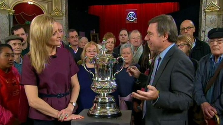 FA Cup given top Antiques Roadshow value of more than 1m http://ift.tt/1pTCmXs Love #sport follow #sports on @cutephonecases