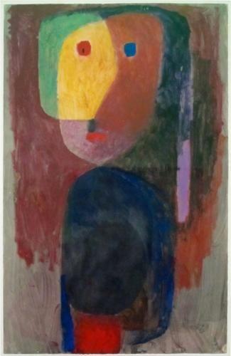 Paul Klee (1879 - 1940)   Surrealism   Evening shows - 1935