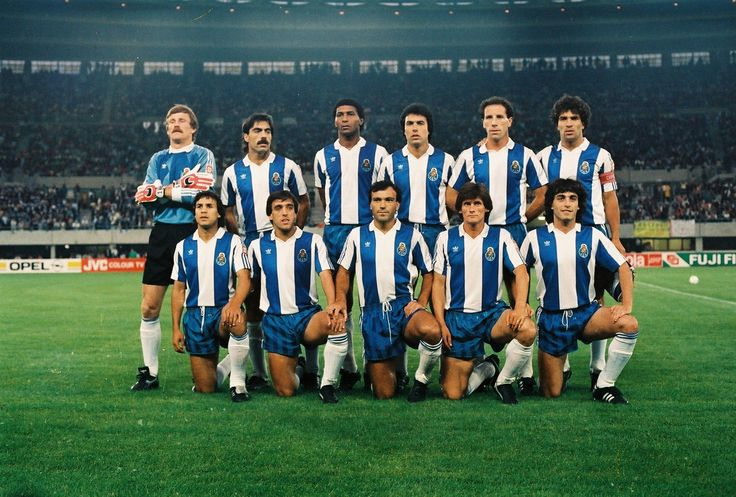 F.C.Porto. Viena 27 May 1987 Gods