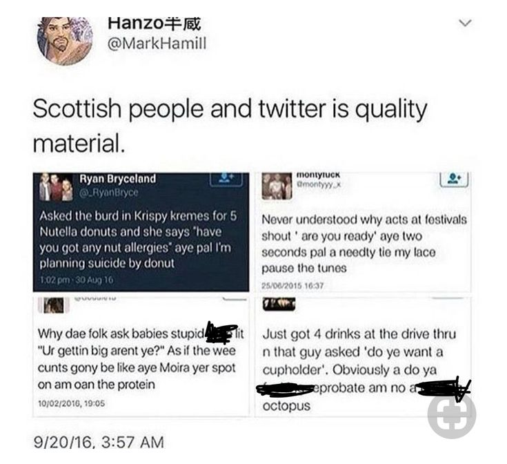 where would we be without Scottish twitter