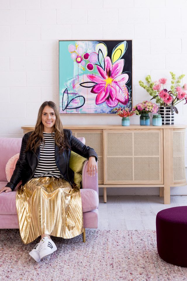 Artist interview: Morgan Jamieson and her love of flowers - The Interiors Addict