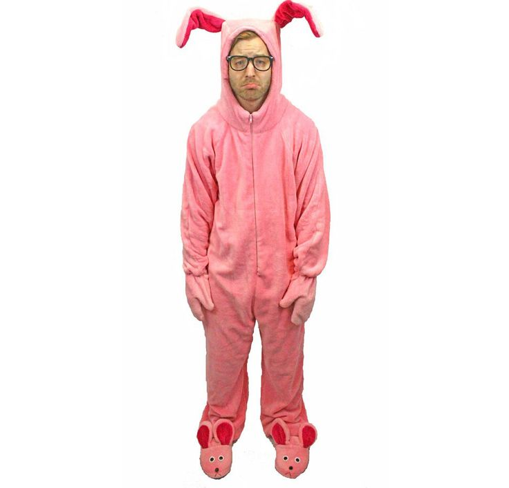A Christmas Story Bunny Suit Pajamas Costume – Sizes for Kids to Adults | Ugly-Sweaters.com