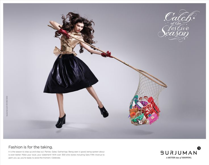 Catch of the season fashion is for taking advertising for Fashion design agency