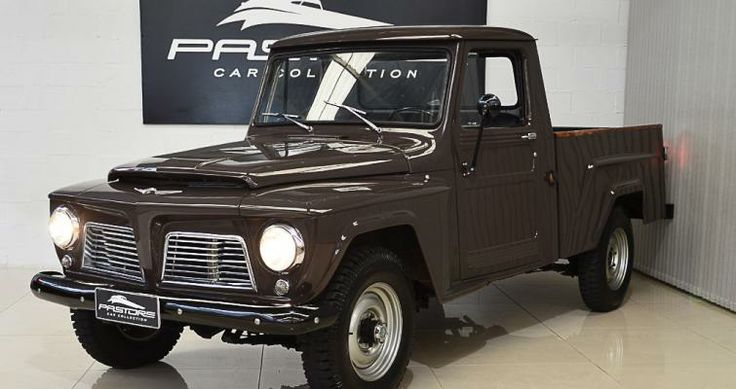 Willys F75 1968 Marrom - Pastore Car Collection