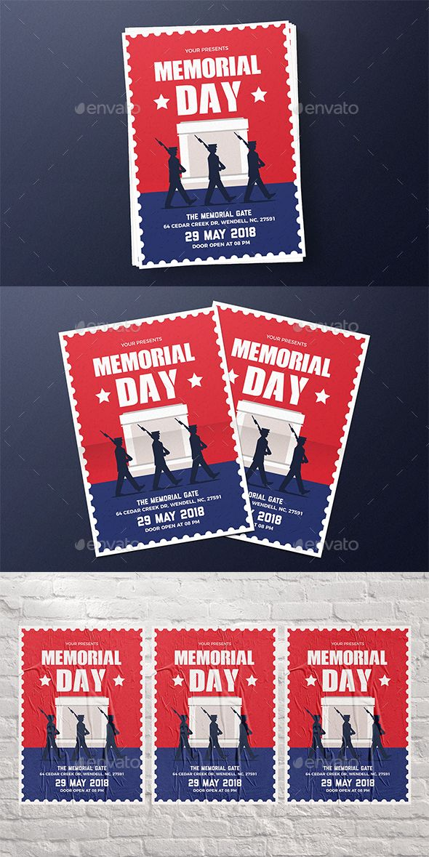 memorial day flyer print design inspiration pinterest flyer