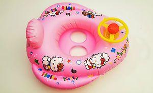 Schwimmring Schwimmsitz Schwimmhilfe Kinder Hello Kitty