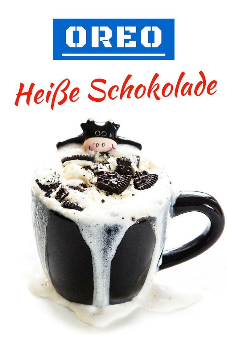 Hier ist ein tolles Rezept für Oreo heiße Schokolade. Zutaten: 250 ml Milch, 2-3 Oreo Kekse, 1 EL Nutella, evtl. Schlagsahne und Oreo zum Garnieren...