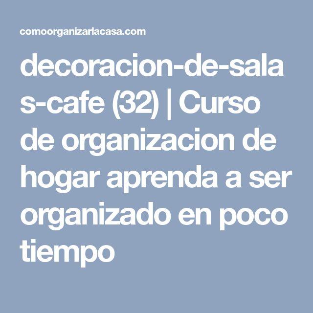 decoracion-de-salas-cafe (32) | Curso de organizacion de hogar aprenda a ser organizado en poco tiempo