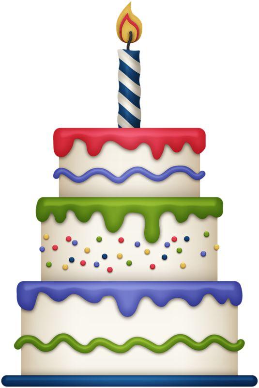 Birthday Cake Clipart Etsy