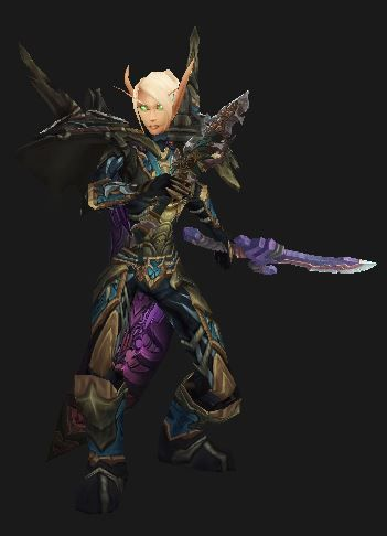 Blondes who kick butt. Rogue in Season 13 Tyrannical PvP Gear. http://gotwarcraft.com/rogue-pvp-gearing/