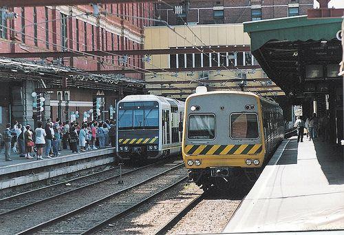 Melbourne launch of new double decker train - March 1992