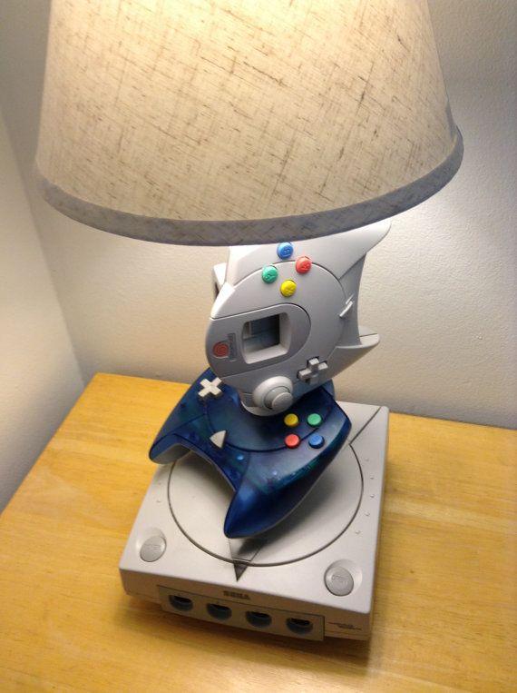 Sega Dreamcast Lamp #Gaming #Retrovideogames