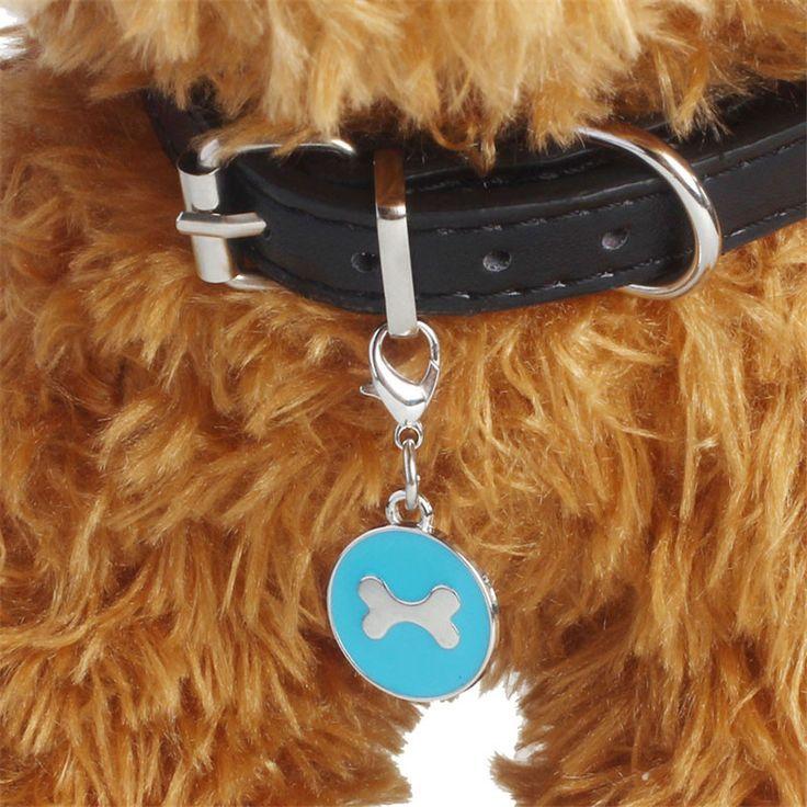 Hoge Kwaliteit Mode Populaire Ronde Bone PuppyRhinestone Hanger Huisdier Sieraden