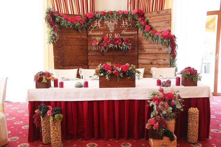 Винно-виноградная свадьба Никиты и Наталии - Цветочная студи…