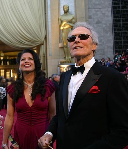 With his (now former) wife Dina in 2007