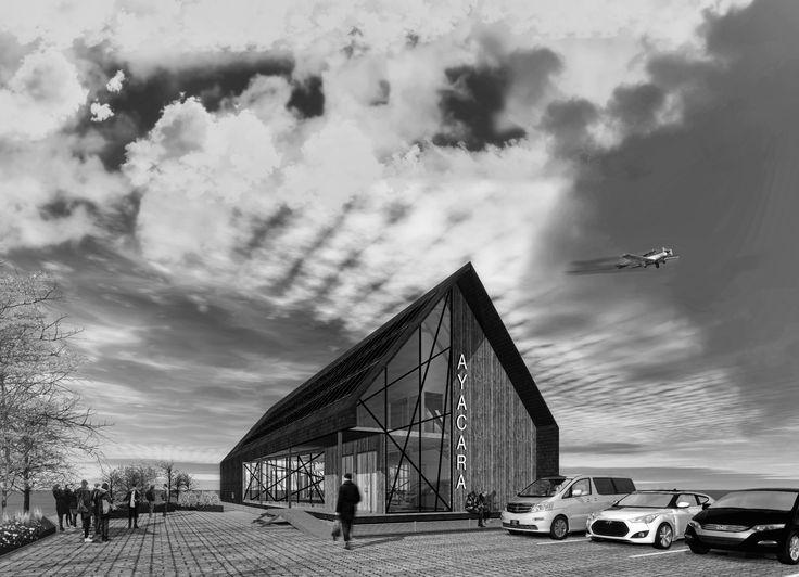 Propuesta de diseño de arquitectura. Refugio de pasajeros.