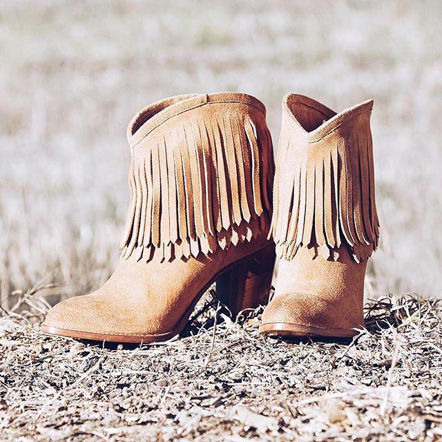 Ilana Fringe Short Boots   The Frye Company