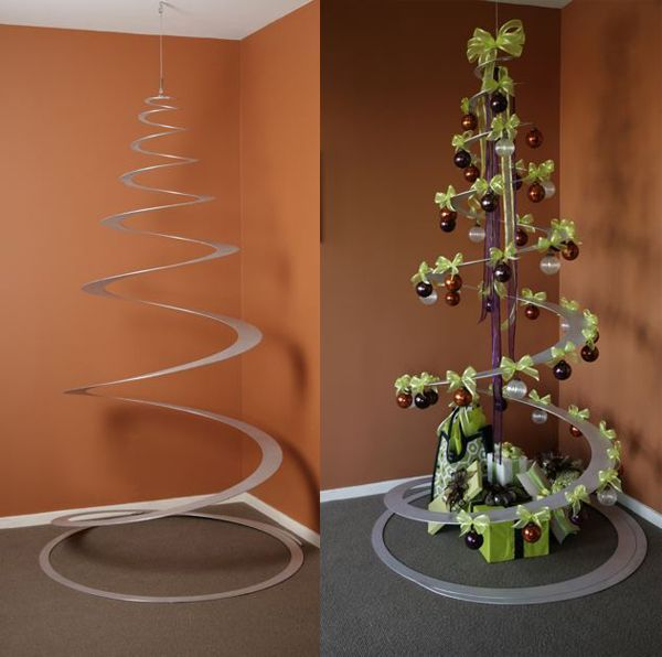 TANNENBOING tree. Pretty alternative but wonder how the aluminum would hold up over time.