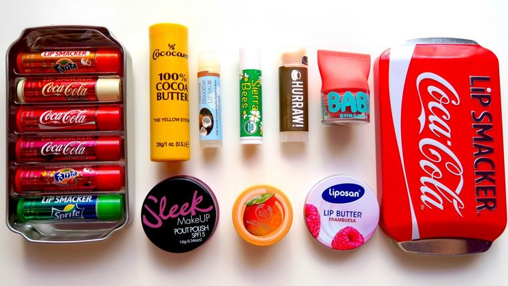 A set of lip balms (4.02$)  Набор бальзамов для губ (235р)  ➡http://ali.pub/q0x1i #aliexpress makeup
