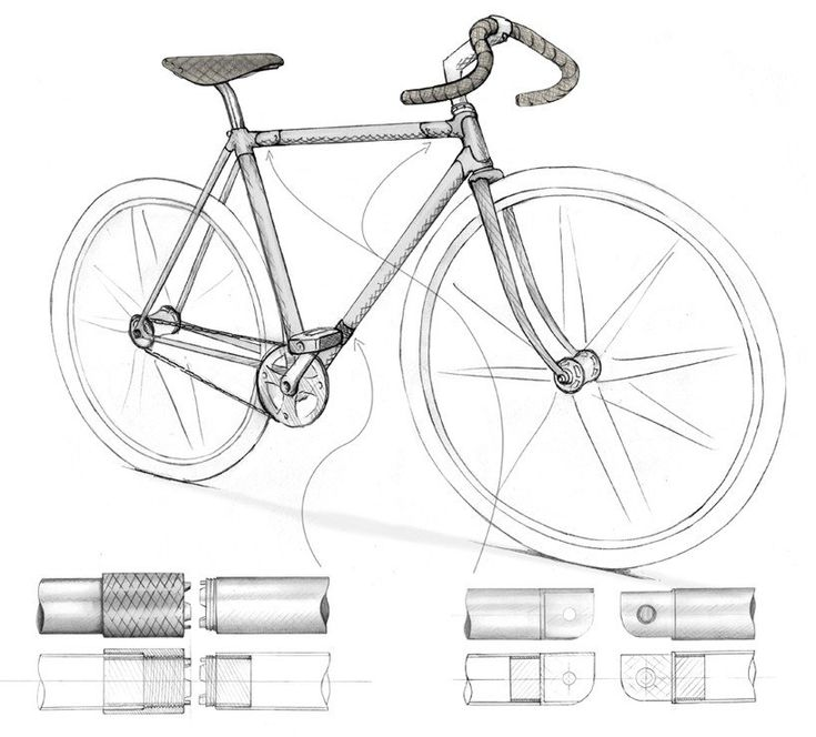 Philip Crewe designed a practical folding bicycle that's not compromised by its folding process, both...