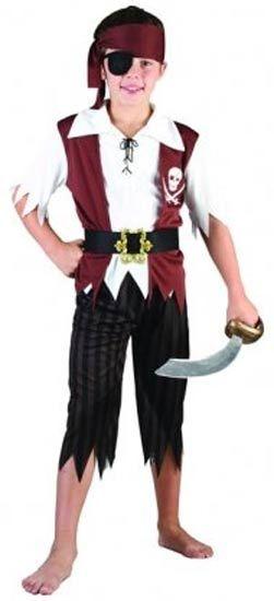 Boys Pirate Costume [CS051281] : Karnival Costumes