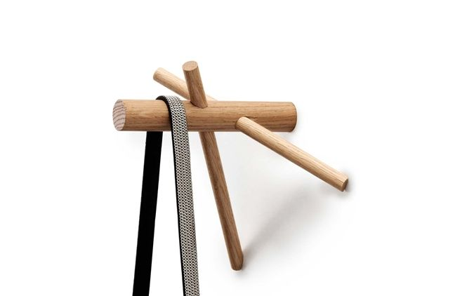 Product: Sticks Hooks  Retailer: Normann Copenhagen    10 Easy Pieces: Inventive Wood Wall Hooks : Remodelista