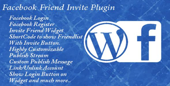 WordPress Facebook Friend Invite Pro . WordPress has features such as Compatible With: WPML, BuddyPress 1.9.x, WP e-Commerce 3.8.x, bbPress 2.5.x, bbPress 2.4.x, Gravity Forms, Easy Digital Downloads, Bootstrap 3.x, Software Version: WordPress 4.1, WordPress 4.0, WordPress 3.9, WordPress 3.8, WordPress 3.7, WordPress 3.6, WordPress 3.5, WordPress 3.4, WordPress 3.3, WordPress 3.2, WordPress 3.1, WordPress 3.0