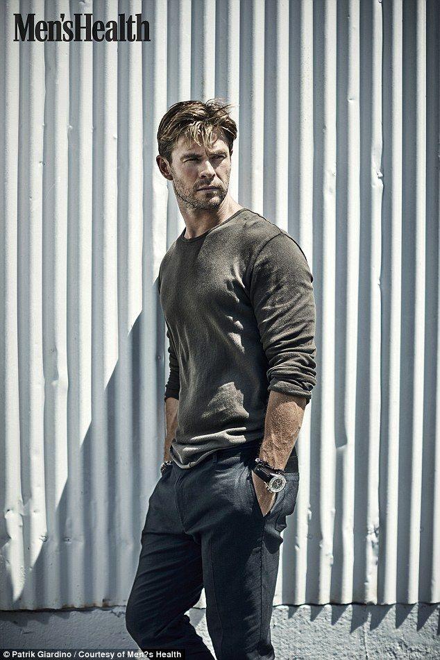 atnys: Chris Hemsworth for Men's Health - Stef's Heaven                                                                                                                                                                                 Plus