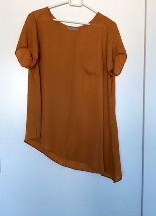 Kup mój przedmiot na #vintedpl http://www.vinted.pl/damska-odziez/koszulki-z-krotkim-rekawem-t-shirty/16600698-elegancka-karmelowa-bluzka