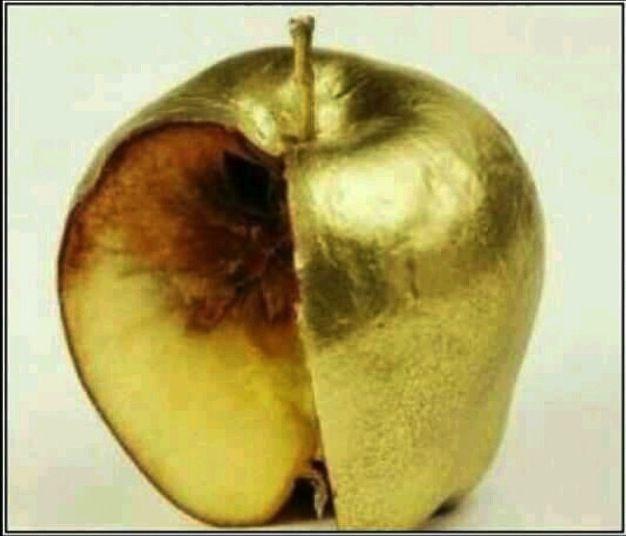 Bildergebnis für golden apple rotten middle