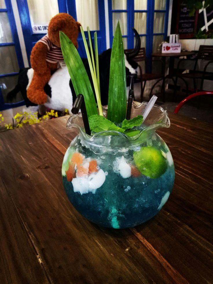 Blue ocean #drink
