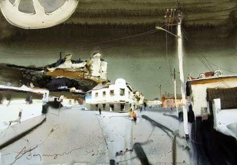 Art Of Watercolor: VOTSMUSH Interview