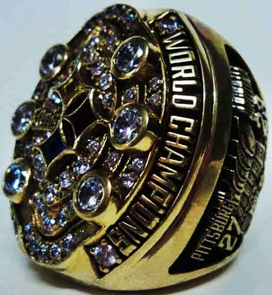 2008 Pittsburgh Steelers NFL Super Bowl Championship Replica Rings.