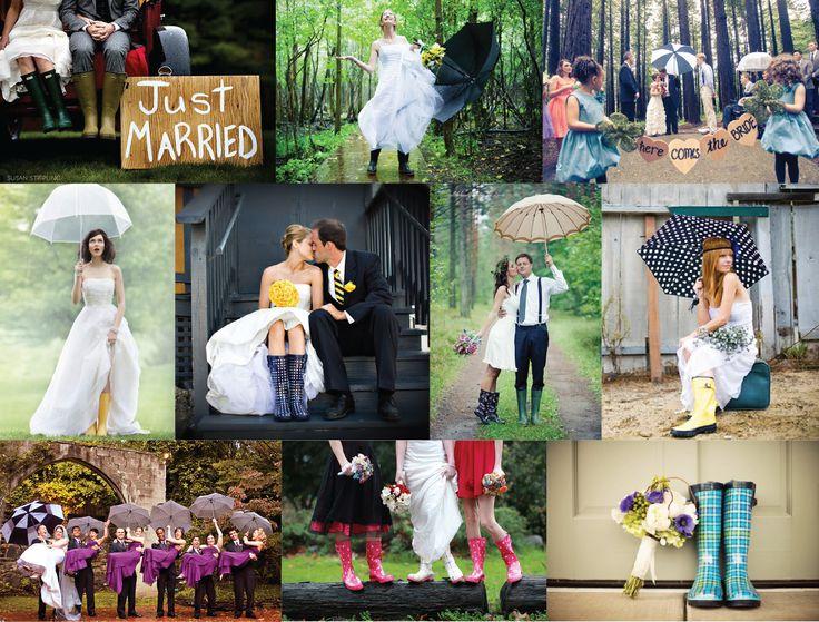 Rainy Wedding /// Casamento à Chuva