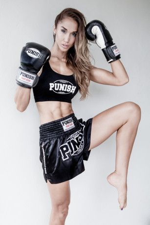 Chontel Hau - Muay Thai Fighter Ultimate women envy love her