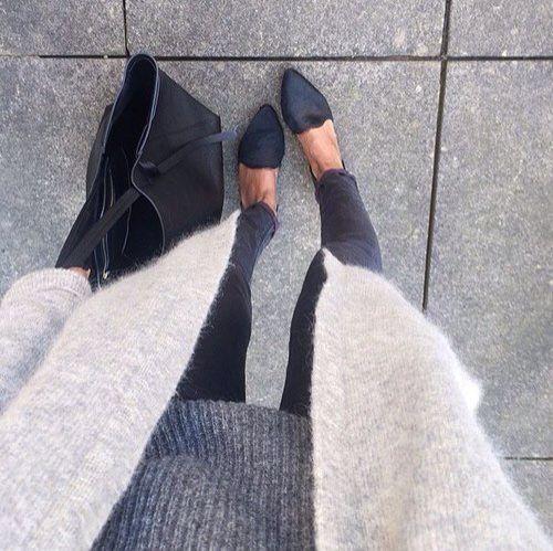 Grey to black