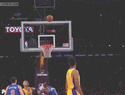 Lakers Missed Basket.gif