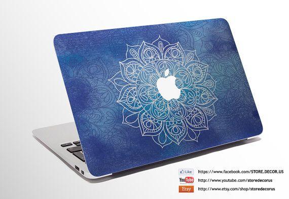 Macbook Decal Flower Fractal / Custom Creative by StoreDecorUS