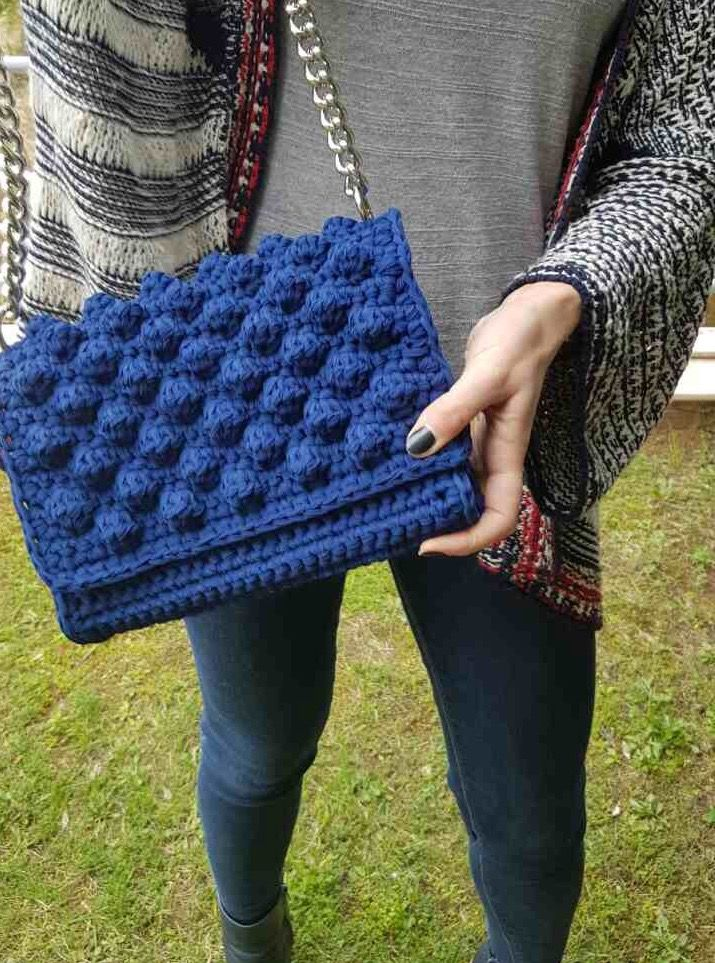 Bubble crochet bag | Bags | Pinterest | Crochet bags, Crochet and Bags