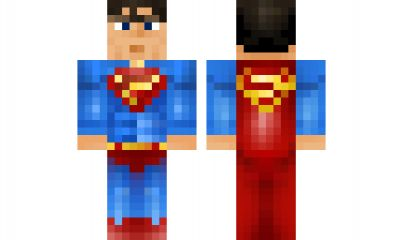 how to build superman in minecraft